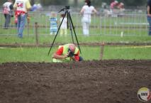 Laagvliegende Sidecarcross.be cameraman.